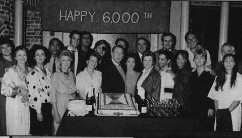6,000th episode 1989