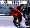 Action Jackson eheh - michael-jackson photo