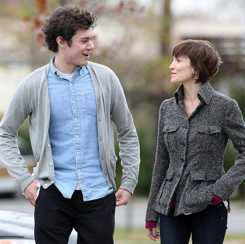 Adam Brody + some girl