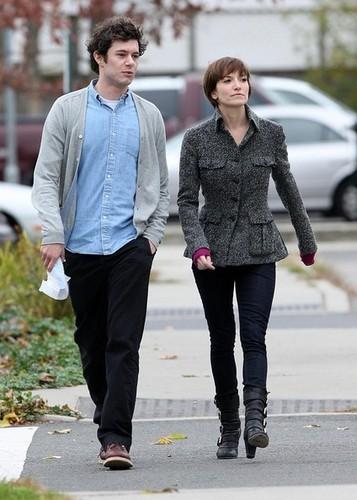 Adam Brody + some girl