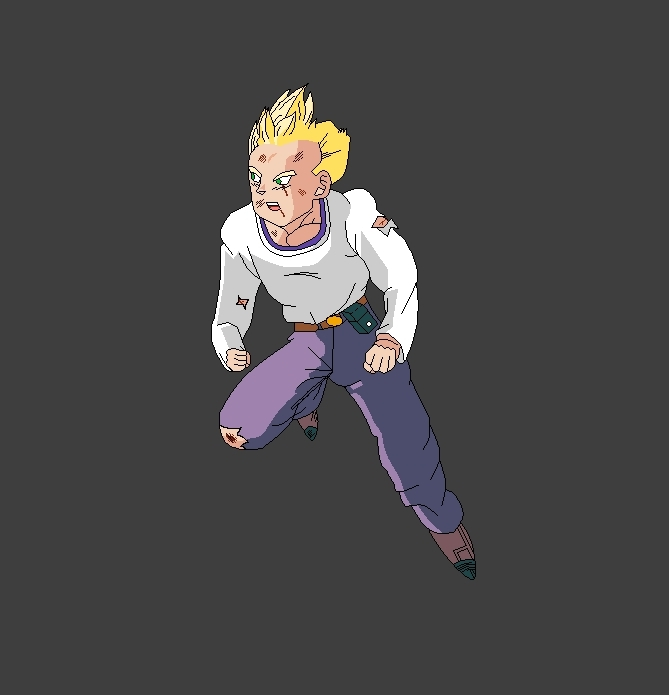 Adult Goten SSJ (Recolored) - Dragon Ball Z Fan Art (12042568) - Fanpop