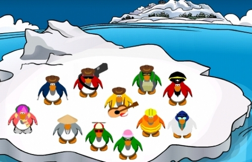 All of the famous penguins