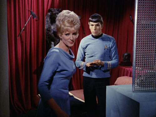 Spock&Christine Chapel wallpaper titled Amok Time