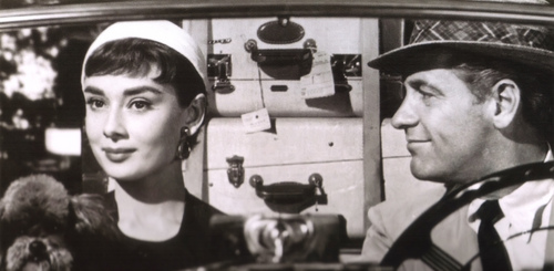 Sabrina (1954) wallpaper titled Audrey Hepburn
