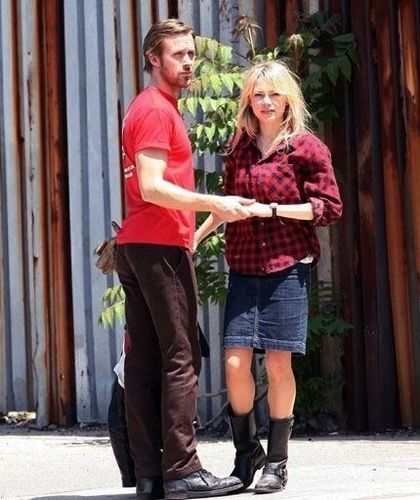 "Blue Valentine ""On the Set"""