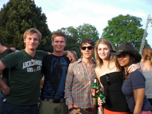 Bradley, Ed, Angel, Lucy and Lucy's boyfriend