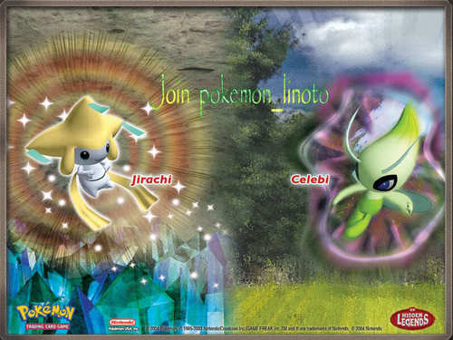 Celebi and Jirachi