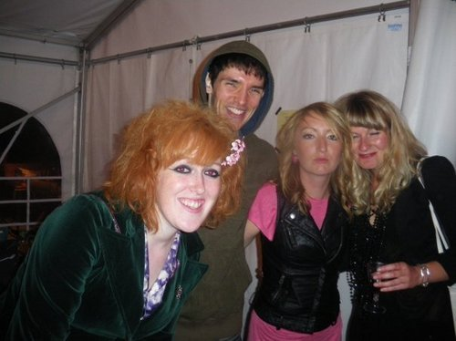 Colin and drunk crew girls