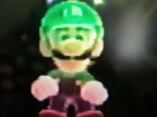 Colorful Luigi