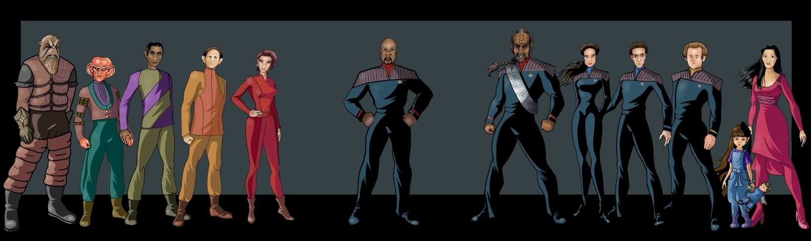 DS9 characters