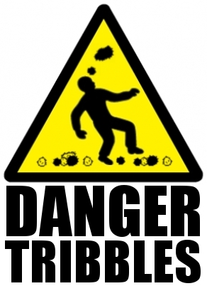 Danger: Falling Tribbles