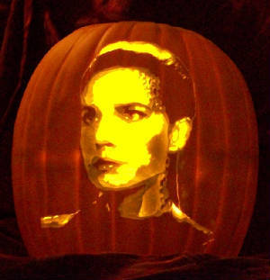 Jadzia Dax - the pumpkin!!!