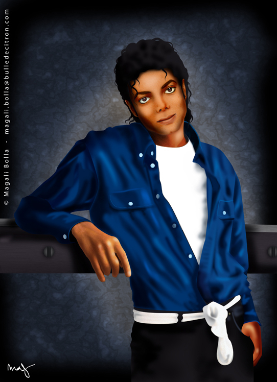 Digital art MJ