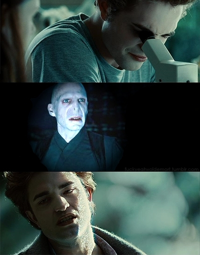 Edward and Voldie xD