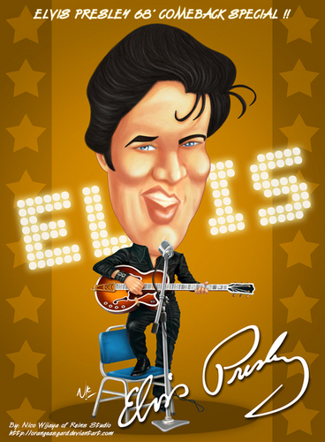 Elvis Cartoon