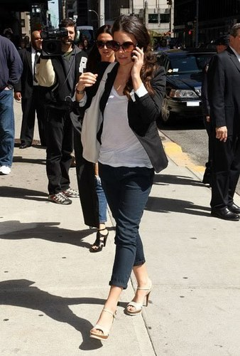 Evangeline Lilly Late - montrer With David Letterman' 10.05.2010