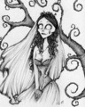 Fan Art Corpse Bride - tim-burton fan art