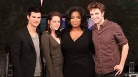 First Picture of Rob, Kristen and Taylor With Oprah