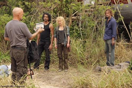Flocke,Sayid,Claire,Sawyer