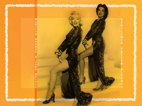 Gentlemen Prefer Blondes - marilyn-monroe Wallpaper