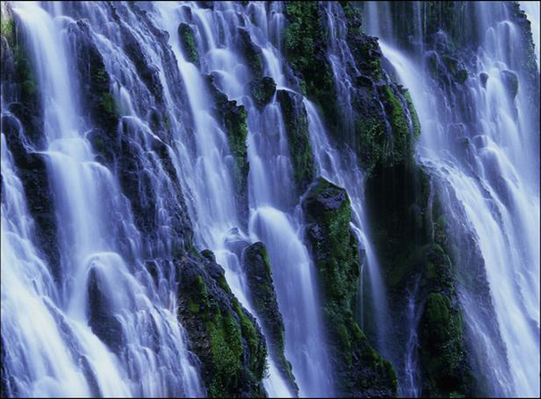 Gods stunning waterfalls