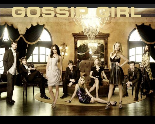 Gossip Girl kertas-kertas dinding