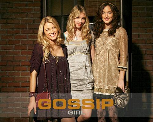 Gossip Girl 壁纸