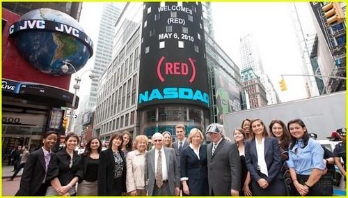 Hayden Christensen Rings NASDAQ Opening Bell!
