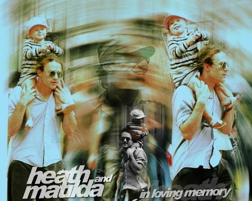 Heath Ledger & Matilda