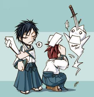 Hisagi and Renji