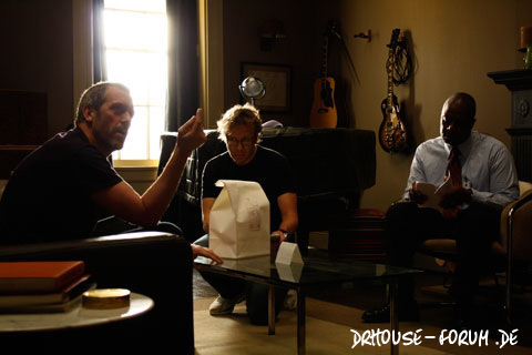 House 6x21 - 'Baggage' Behind the Scenes