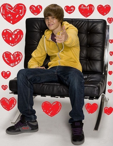 Justin Beiber wallpaper entitled I Heart Bieber