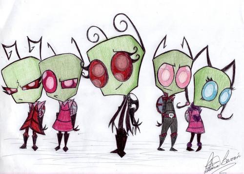 Invader Azula and vrienden