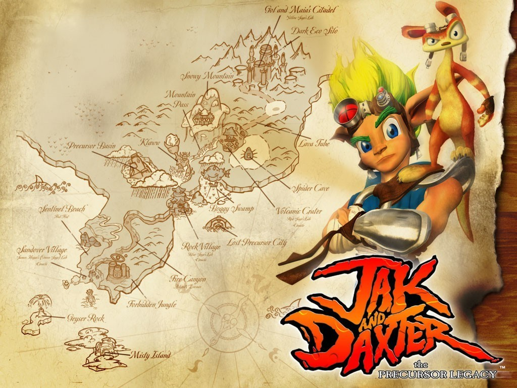 Jak And Daxter The Precursor Legacy Hd Wallpaper: Jak And Daxter Wallpaper (12056946)