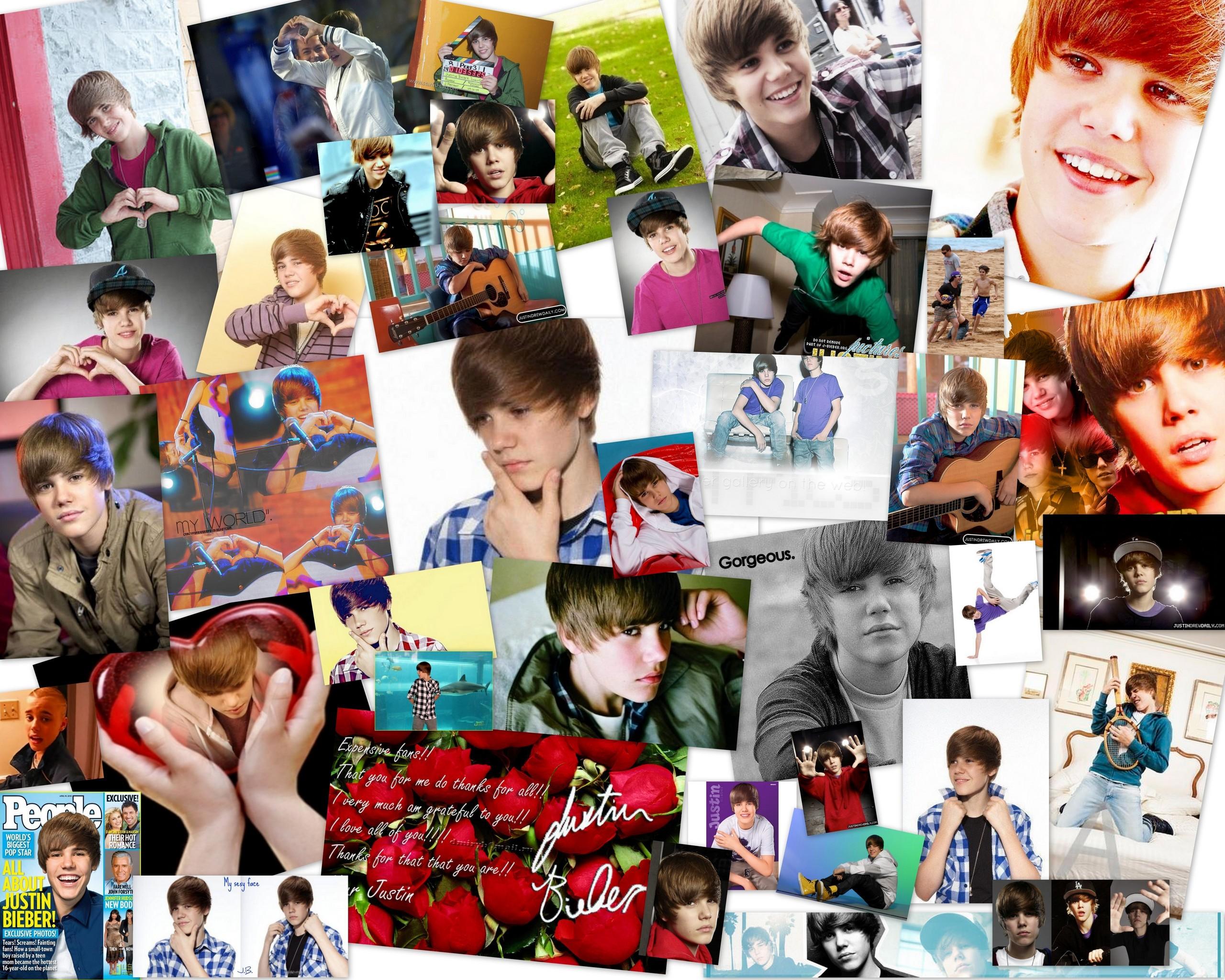 Justin Bieber Justin Bieber Collage,