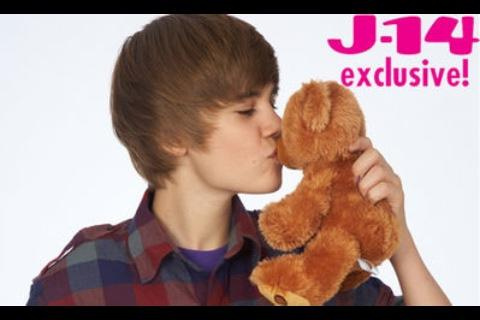 Justin s'embrasser a ours