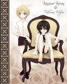 Kaname & Takuma as kids