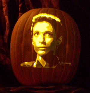 Kira Nerys - the pumpkin!!!