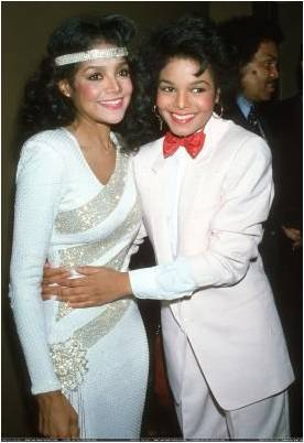La Toya with Janet