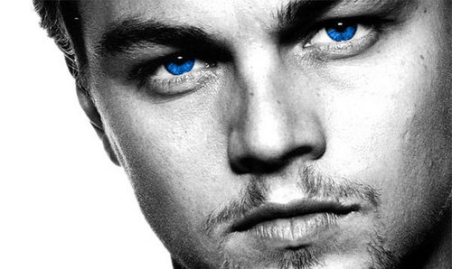 Leo stunning blue eyes