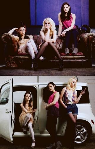 Lily, Kat & Meg