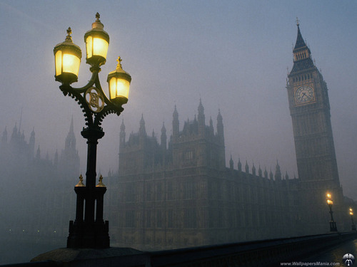 Londres In The Mist