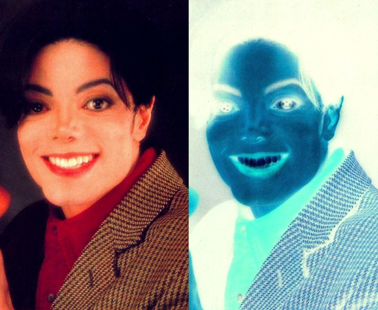 MJ - Awesome Inverted Colors
