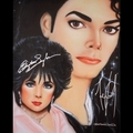 MJ + Liz - michael-jacksons-ladies fan art