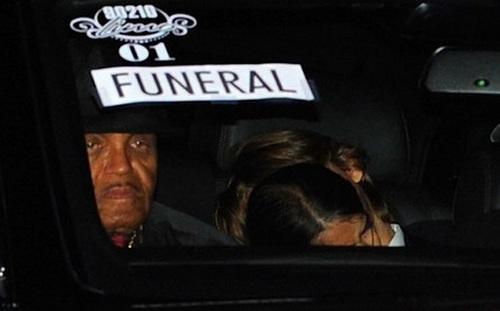 MJ burial