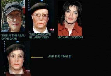 MJ face and disguises