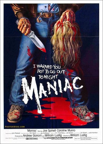 film horror wallpaper titled Maniac