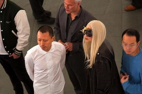May 06 - At the Museum of Modern Art - lady-gaga Photo