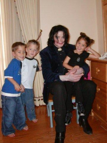 Michael & children