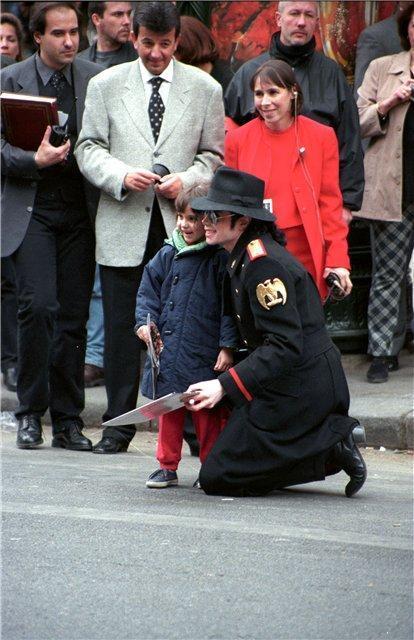 Michael & children